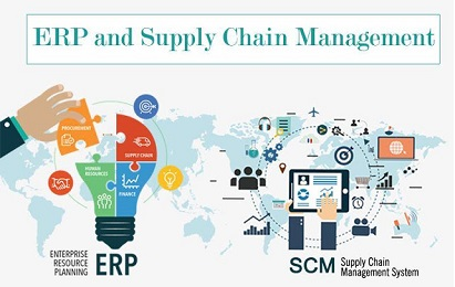 ERP software with supply chain management