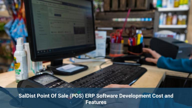 SalDist Point Of Sale ERP Software
