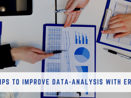 Data analysis with ERP