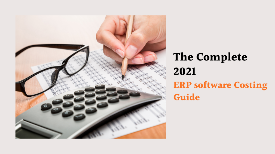 ERP software costing