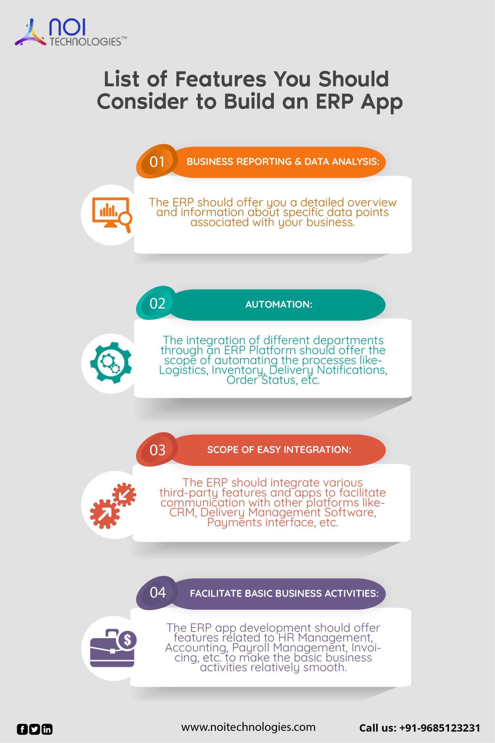 How to build an ERP app